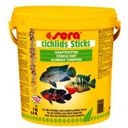 SERA CICHLIDS STICKS 10Lt (2kg)