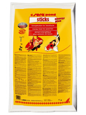 SERA POND STICKS ENERGY PLUS 40 LT (5 KG)