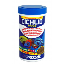 Prodac Cichlid Sticks 1200 Ml 450 Gr