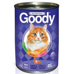 Goody Karaciğerli & Tavşanlı Kedi Konservesi 415 Gr