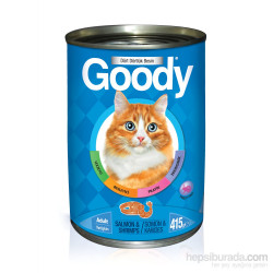 Goody Somon & Karidesli Yaş Kedi Maması 415 Gr
