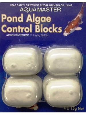 AQUA MASTER POND ALGAE CONTROL BLOCKS 4x15GR NET