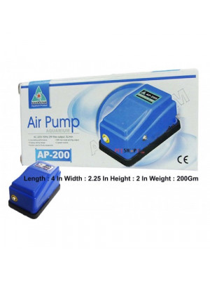 sian Star Aquarium Air Pump AP 200