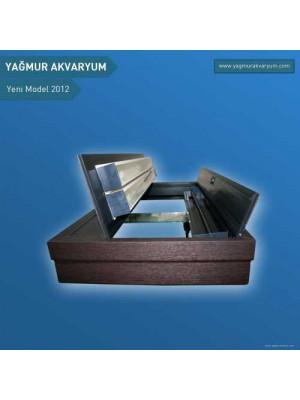 101 CM X 54 CM X 68 CM ÖZEL MOBİLYALI AKVARYUM