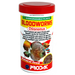 Prodac Bloodwroms Chyronomus 250 Ml 20 Gr