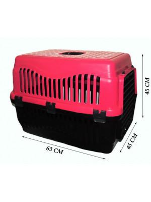 Büyük Kedi/Köpek Taşıma Kabı Voyager (Plastik Kapılı)