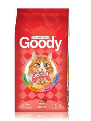 Goody Etli Kedi Maması 15 kg.