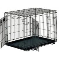 Dayang Dayang 041-C Katlanabilir Metal Kedi Köpek Kafesi 61X44X50 Cm