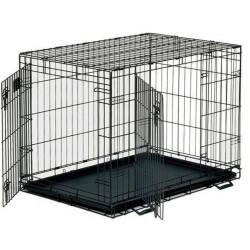 Dayang 043-C Katlanabilir Metal Kedi Köpek Kafesi 93X57X64 Cm