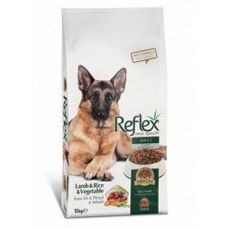 Reflex Kuzu Pirinçli Ve Sebzeli Yetişkin Köpek Mamasi 15 Kg .