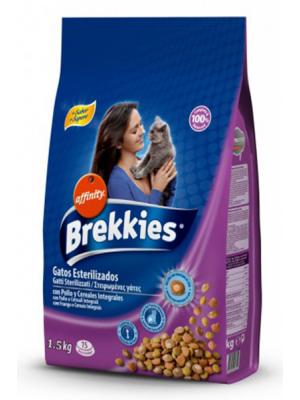 Brekkies Sterilised Kisirlaştirilmiş Kedi Mamasi 1.5 Kg