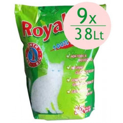 Royal Cat Natural Tozsuz Silika Kedi Kumu 3,8 Lt / 1,4 Kg (9 Adet)