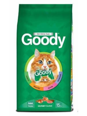 Goody Gourmet Karişik Yetişkin Kedi Mamasi 15 Kg