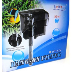 Haiyang HY-614 Şelale Askı Filtre 550 L/H