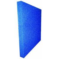 Akvaryum Filtre Süngeri Kalın Gözenekli Mavi 50x25x5 cm