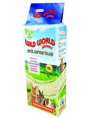 Wild World Bıcı Bıcı Kemirgen Talaşı 750 gr