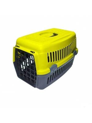 Happy Paws Taşıma Kabı Küçük Sarı 48 x 32 x 32cm